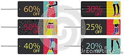 Fashion sale tags