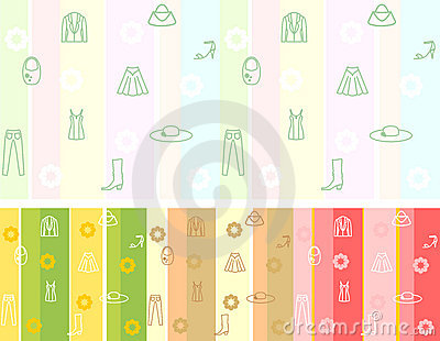 Fashion seamless / vector pattern