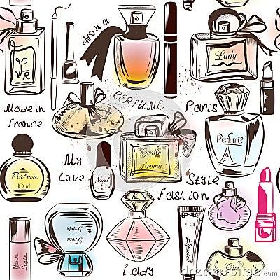 Free Fashion Seamless Wallpaper Pattern Stock Image - 59974621