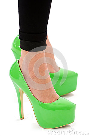 Free Fashion Sexy High Heel Shoes Royalty Free Stock Image - 27647316