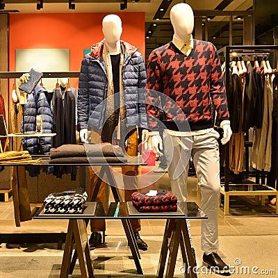 Free Fashion Shop Stock Photography - 49886762