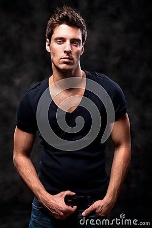Free Fashion Shot Of A Young Man A Trendy European Man Royalty Free Stock Photo - 13945145