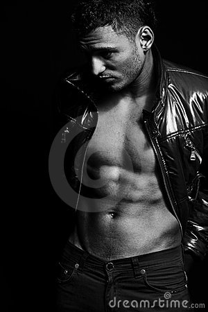 Free Fashion Shot Of Muscular Sexy Handsome Man Stock Photography - 10399952