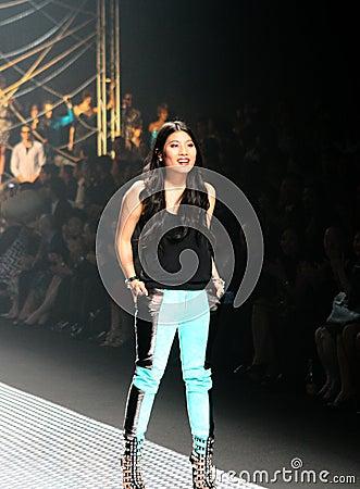 Fashion show Editorial Stock Photo