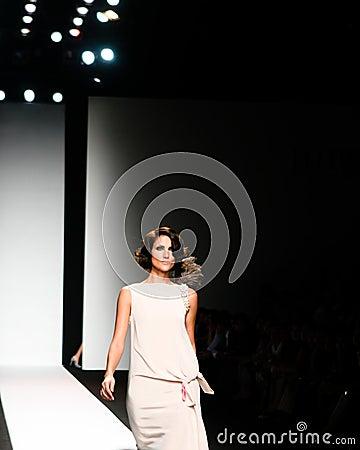 Fashion Show Editorial Stock Image