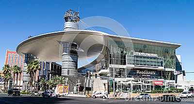 Fashion Show Mall Las Vegas Editorial Stock Photo