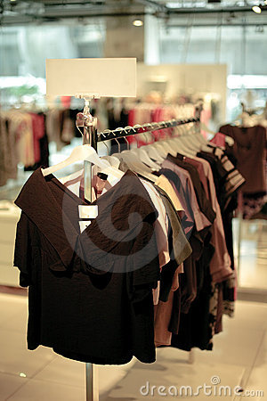 Fashion store interior