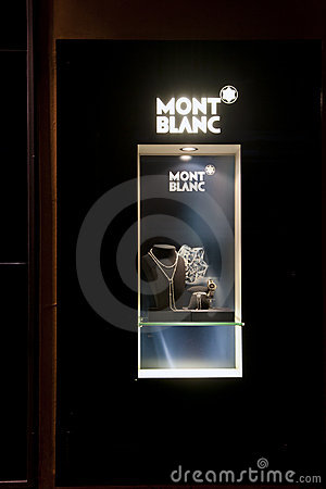 Free Fashion Store Mont Blanc Royalty Free Stock Images - 18644319