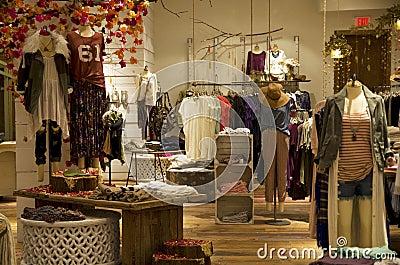 Fashion store Editorial Image