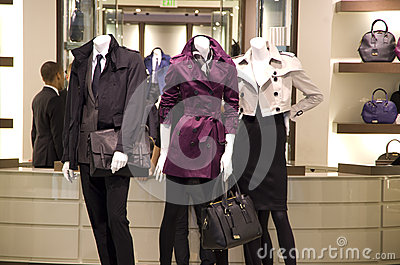 Fashion store Editorial Stock Photo