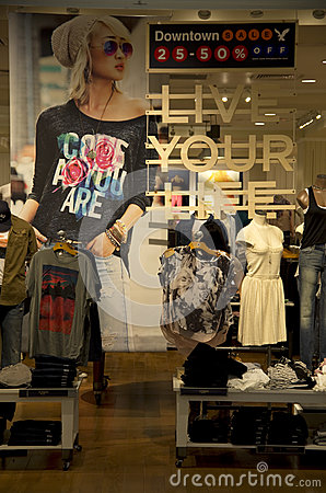 Clothing stores Clothing stores for young adults