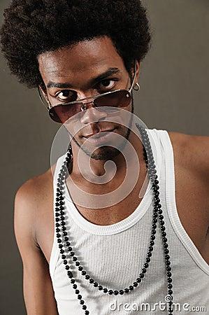 Fashion sunglasses man