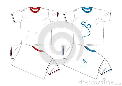 Fashion t shirt template