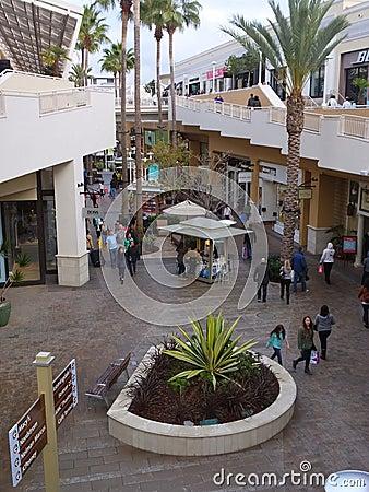 Free Fashion Valley Mall In San Diego, California Royalty Free Stock Photos - 36402288