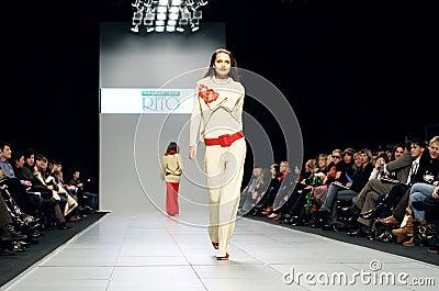 Fashion Week Editorial Photo