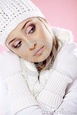 Fashion winter woman