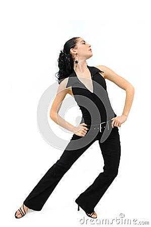 Free Fashion Woman Posing Isolated Royalty Free Stock Photos - 6569828
