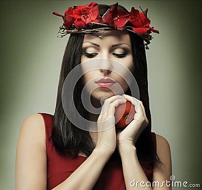 Fashion woman - temptation