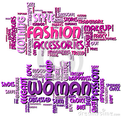 Fashion And Woman Word Clouds Royalty Free Stock Photography Image 31327747