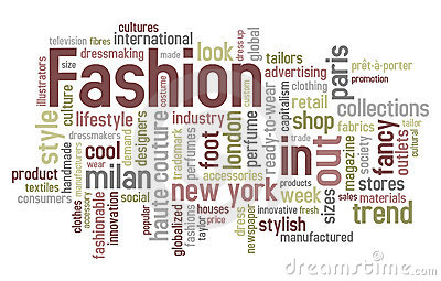 Fashion Word Cloud Royalty Free Stock Image Image 17400566