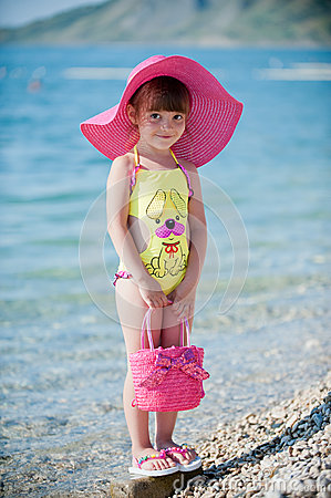 Fashionable on the beach
