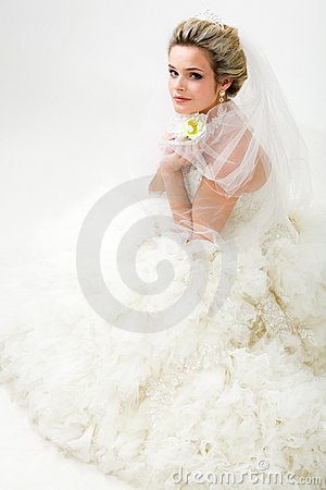 Fashionable bride