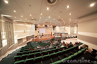 Fashionable conference in conference room Editorial Stock Image
