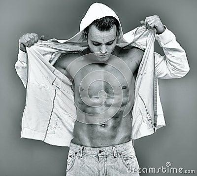 Free Fashionable Fit Man Stock Photo - 39893280