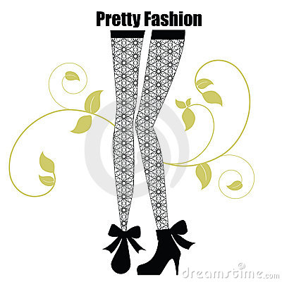 Fashionable leggings with pattern