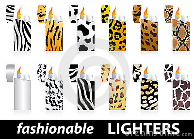Fashionable lighters