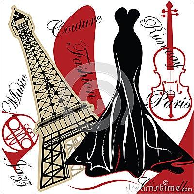 Free Fashionable Paris Royalty Free Stock Image - 9688416