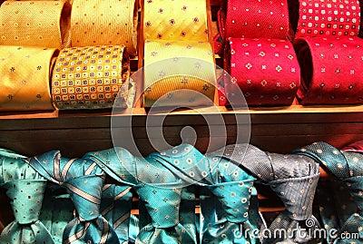 Fashionable tie shop