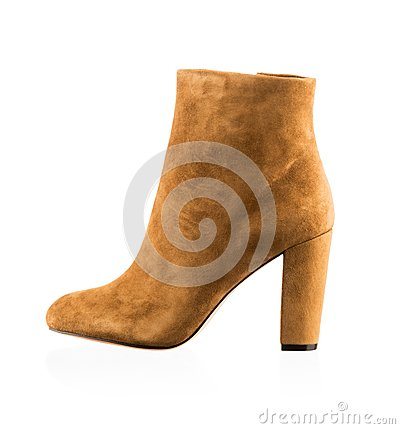 Free Fashionable Women Winter Boot Stock Images - 35024744
