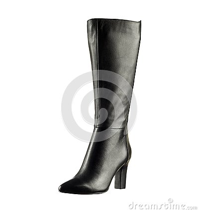 Free Fashionable Women Winter Boot Stock Images - 47481004