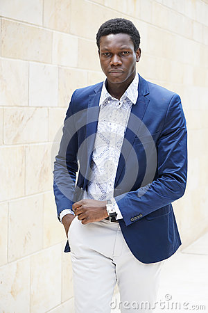 Free Fashionable Young Man Of African Descent Royalty Free Stock Photo - 71961365