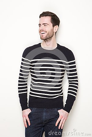 Free Fashionable Young Man Smiling Stock Image - 42467981
