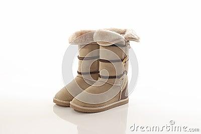 Fasion Sheepskin boots