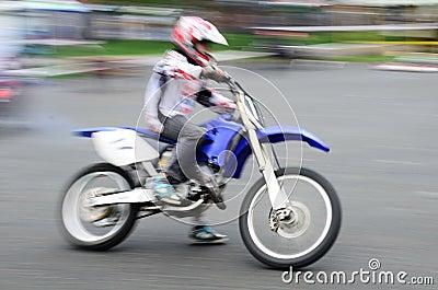 Fast biker