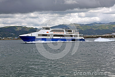 Fast Ferry Editorial Stock Image