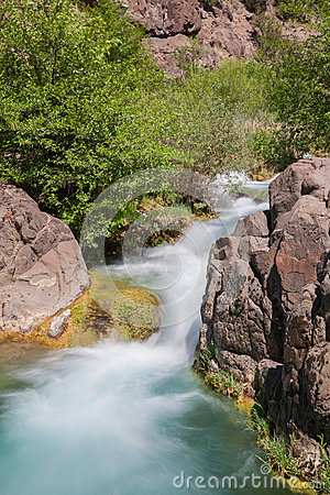 Fast Flowing Fossil Creek Arizona