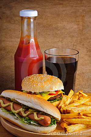 Free Fast Food Royalty Free Stock Images - 21221909