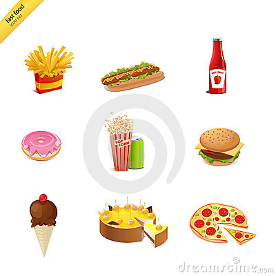 Free Fast Food Royalty Free Stock Photo - 8298635