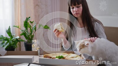 Mädchen Essen Muschi Junge Echt Junge