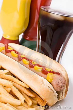Free Fast Food Meal Stock Photos - 8031043