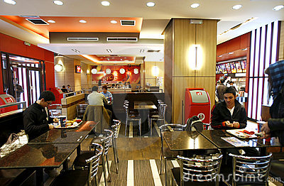 fast-food-restaurant-interior- ...