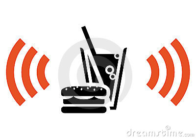 Fast food with Wi-Fi
