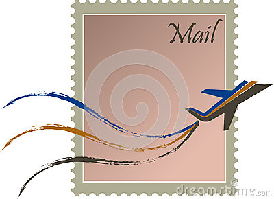 Fast mail stamp