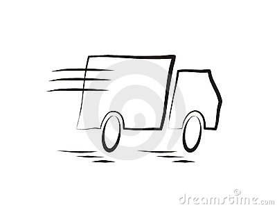Clip Art Moving Truck Clipart moving truck royalty free stock image 12180576