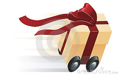 Fast Present Gift on Wheels Concept