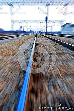Fast railroad